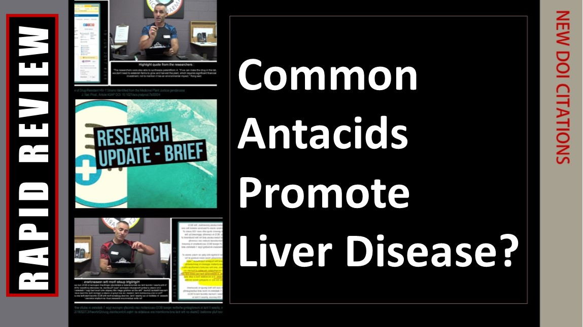 Common Antacids Promote Liver Disease?