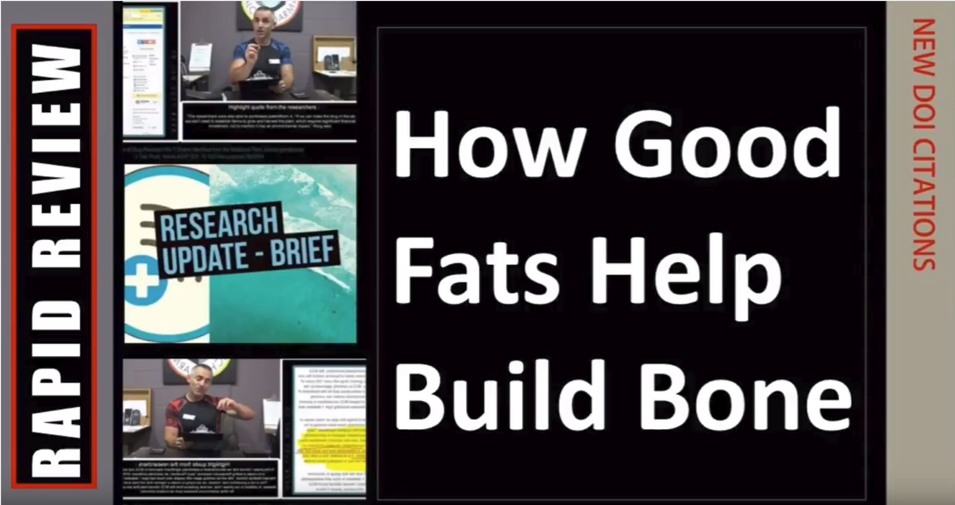 How Good Fats Build Bone