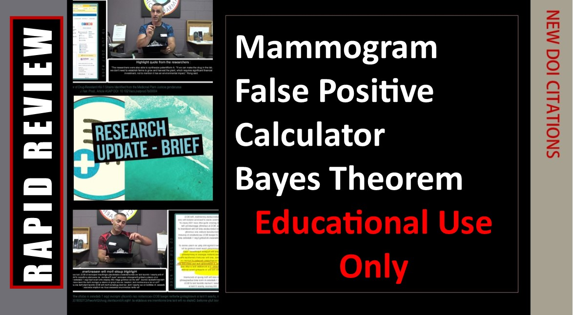 Mammography False Positive Risk Estimator ( Educational Discussion Only)